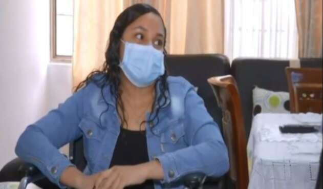 Joven no puede volver a caminar tras dar positivo de coronavirus