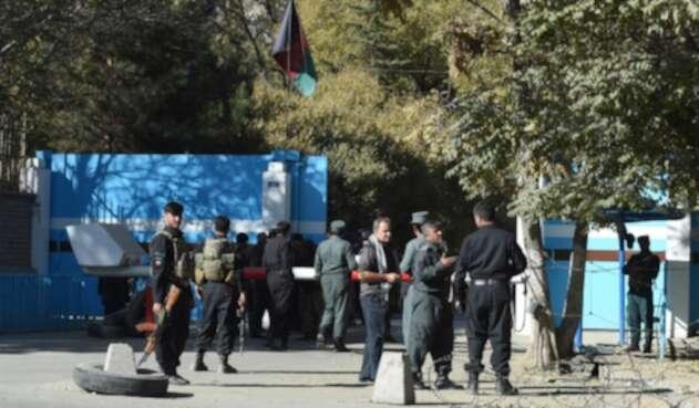 Ataque en universidad de Kabul