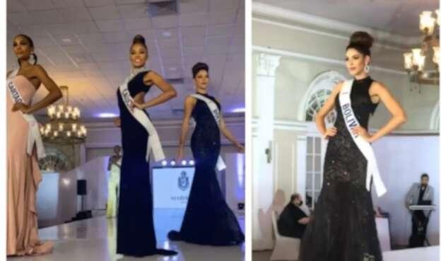 Desfile en traje de gala - Miss Universe Colombia