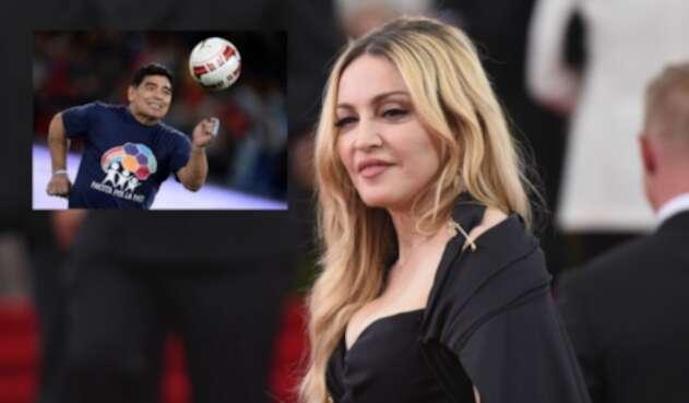 Madonna en vez de Maradona