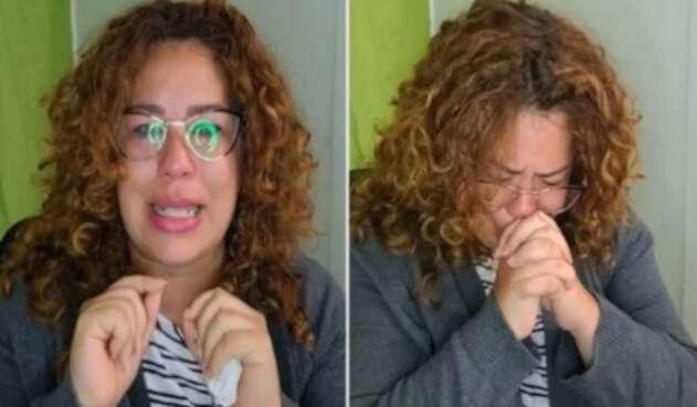 """Maestra lamentó entre lágrimas que """"esta generación no quiera aprender"""""""