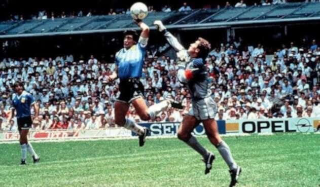 La mano de Dios, gol de Maradona