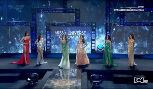 Finalistas a Miss Universe