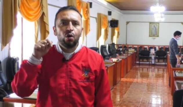 """""""No se meta en nuestros asuntos"""": Presidente del Concejo de Soacha a Cancino"""