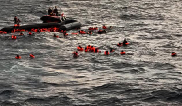Migrantes Mediterráneo - Open Arms