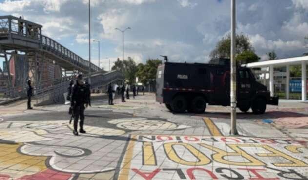 Protestas en la Universidad Nacional el sábado 21 de noviembre