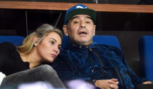 Rocío Oliva, exnovia de Diego Maradona