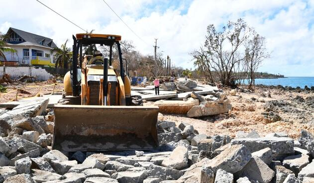 Afectaciones de Huracán Iota en San Andrés y Providencia