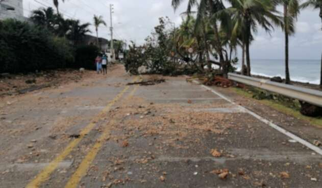 Iota en San Andrés
