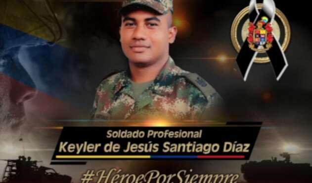 Keyler de Jesús Santiago Díaz, oriundo de Curumaní, César