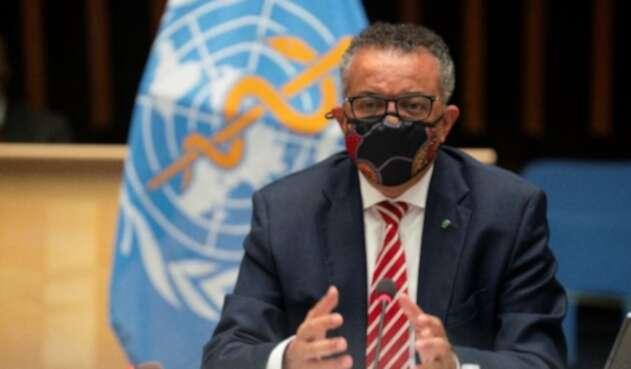 Tedros Adhanom, director de la OMS