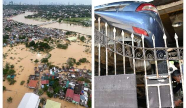 Tifón Vamco en Filipinas