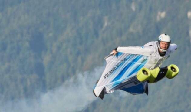 Traje volador eléctrico de BMW Group