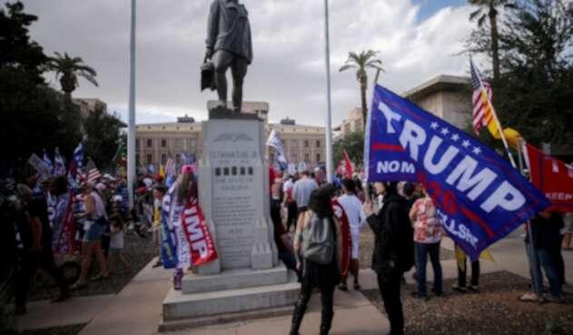 Simpatizantes de Trump en Arizona