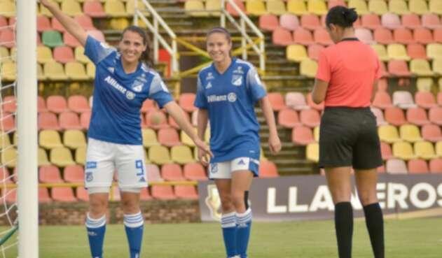 Llaneros Vs. Millonarios - Liga Femenina