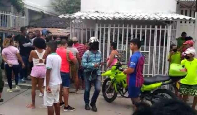 Por supuestos problemas pasionales, se presentó un caso de feminicidio en un barrio de Cartagena