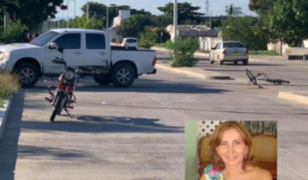 Odontóloga muere en accidente en Riohacha