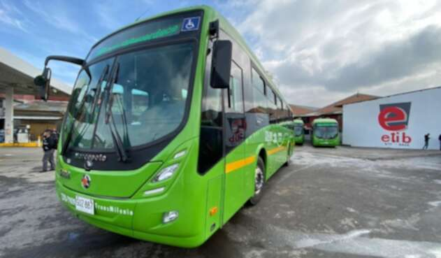 Buses eléctricos de Transmilenio