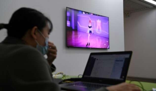 Amy, cantante virtual que es sensación en China
