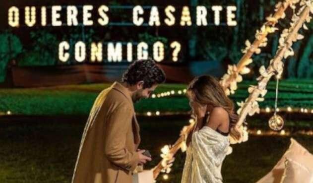 Alejo González y Manuela Cardona se casaron