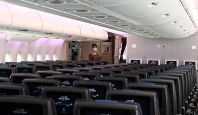 Aviones en medio de pandemia por coronavirus