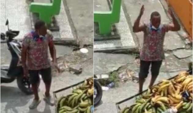"""""""Ayudenme a que mis hijos pasen una Navidad feliz"""": La súplica de un vendedor de plátano en Quibdó"""