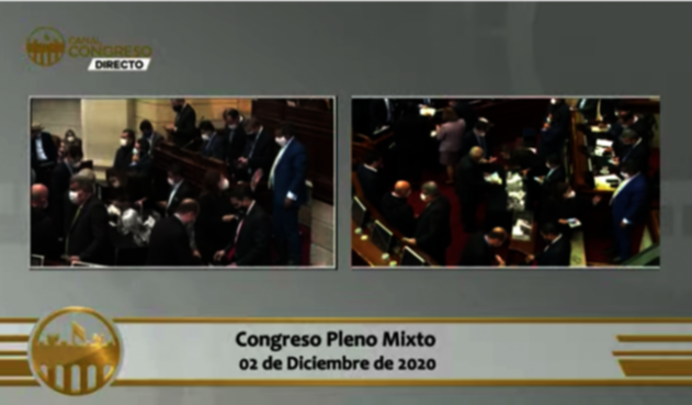 Congreso en Pleno Virtual