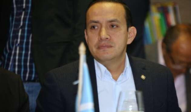 Mauricio Aguilar, gobernador de Santander