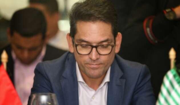Juan Guillermo Zuluaga, Gobernador del Meta