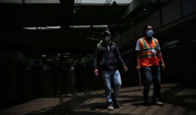 Por coronavirus, en Bogotá el uso de tapabocas es obligatorio