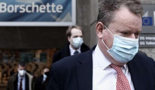 David Frost, negociador británico posbrexit