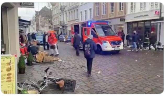 Dos muertos en Alemania atropellados por un automóvil en zona peatonal