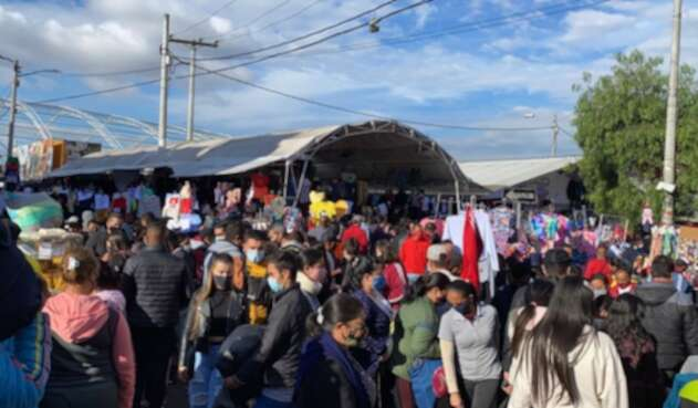 Penúltima jornada del 'madrugón' de San Victorino, previa al 24 de diciembre