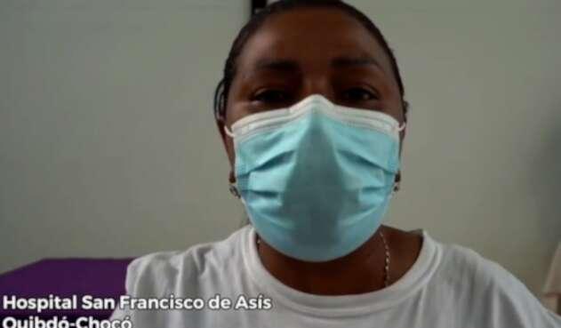 Enfermera de Quibdó