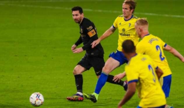 Barcelona Vs. Cadiz - Liga Española - Lionel Messi
