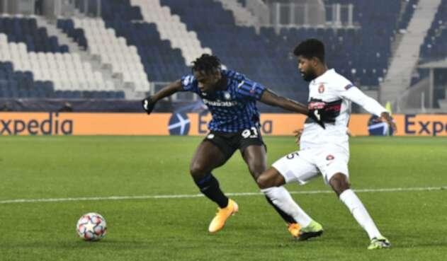 Atalanta Vs. Midtjylland - Champions League - Duván Zapata