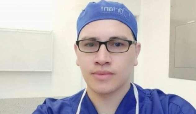 Anestesiólogo antioqueño, Óscar Pastrana.