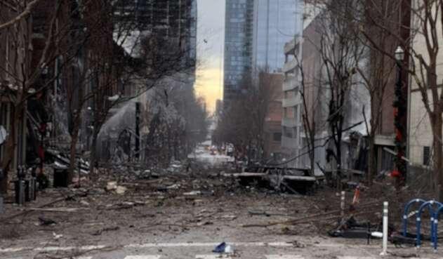Explosión en Nashville, EE.UU.
