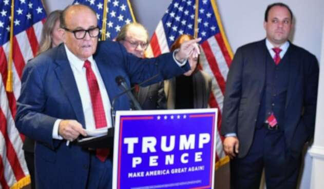 Robert Giuliani, abogado de Donald Trump