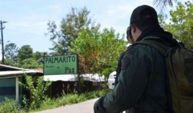 Zona rural de Palmarito en Cúcuta