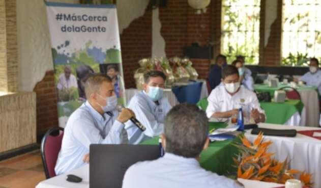 Alcaldes y comunidades ambientales también se hicieron presentes.