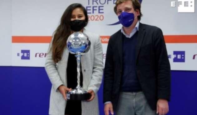 Leicy Santos premio EFE