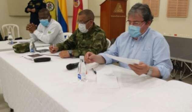 Ministro de Defensa, Carlos Holmes Trujillo en Santander de Quilichao
