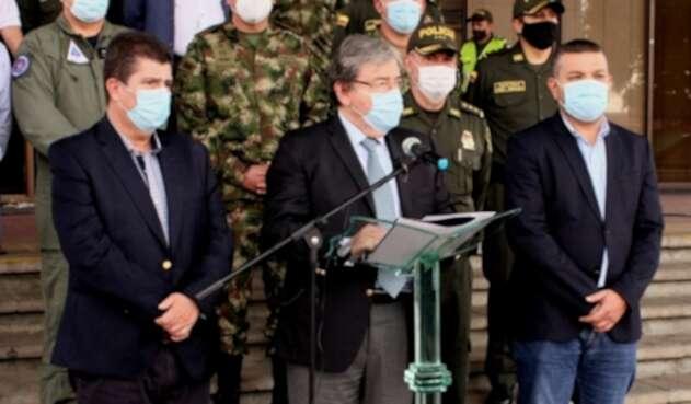 Ministro Carlos Holmes Trujillo en Pereira.