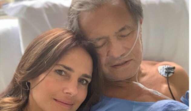 Paola Turbay y su padre