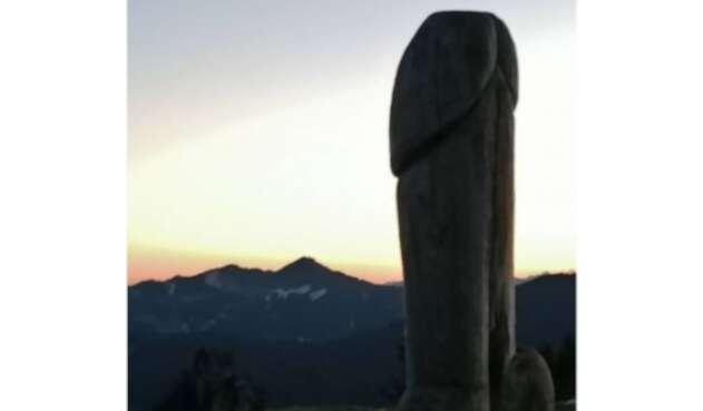 Desapareció monumento en forma de pene en Alemania