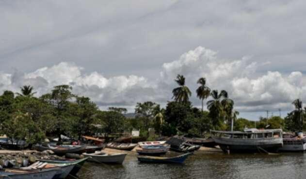 Puerto de la Guira, Sucre, de donde salió la embarcación que naufragó