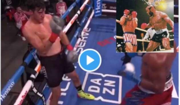 Mexicano perdió pelea al querer emular a Rocky Balboa