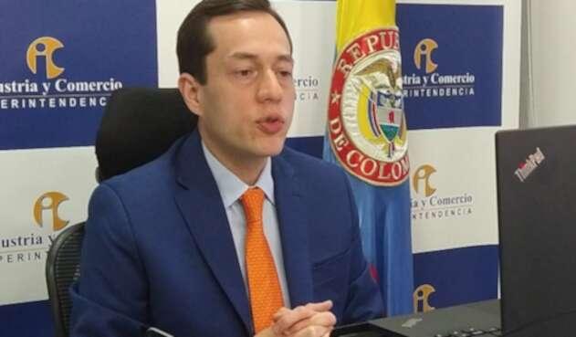 Andrés Barreto, superintendente de Industria y Comercio