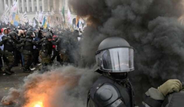 Disturbios en Ucrania